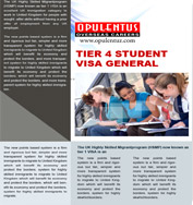 UK Tier 4 Student Visa General