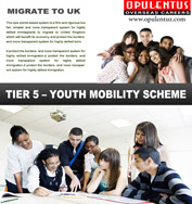 UK Tier 5 Youth Mobility Scheme